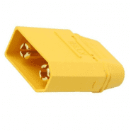 Amass XT90H-M 40A 500V Male Battery Connector Plug for LiPo or NiMH batteries