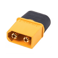 Amass XT90I-M 40A 500V Male Battery Connector Plug for LiPo or NiMH batteries