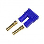 AMASS EC2-F female plug, connector 15A 500V DC supply PIN: 2, blue