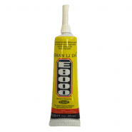 E8000 Universal Clear Glue for displays, touch panels, screens, laptop frames, transparent, 25ml