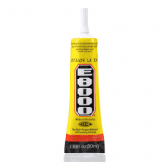 E8000 Universal Clear Glue for displays, touch panels, screens, laptop frames, transparent, 50ml