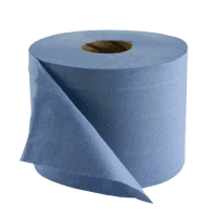 Industrial paper, 2 ply, blue, 1 pc.