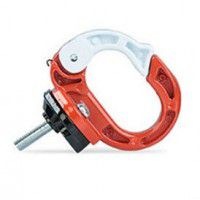 Metal hook for Xiaomi M365 electric scooter (orange)