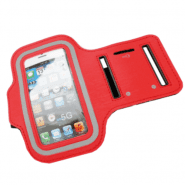 """Armband universal phone case for sport, running 4"""", red"""