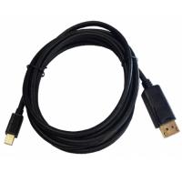 Brackton mini DisplayPort Male to DisplayPort Male cable, MDP-DP4-0200.B, 2m