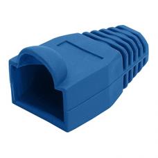 Logilink LOG-MP0008 connector, RJ45 plug boot, blue