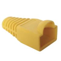Logilink LOG-MP0009 connector, RJ45 plug boot, yellow
