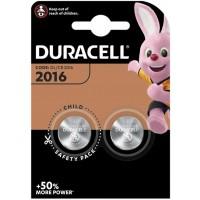 Duracell Electronics 2016 DL2016/CR2016 ECR2016 3V Lithium baterija 2 gab.