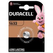 Duracell CR1632 / DL1632/ ECR1632 3V 137mAh litija elektronikas (electronics) baterija 1 gab.