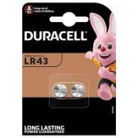 Duracell Electronics LR43 186/KA43 baterijas